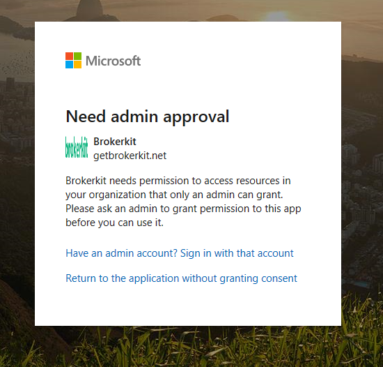 BrokerKit_Need_Admin_Approval_Screen.png
